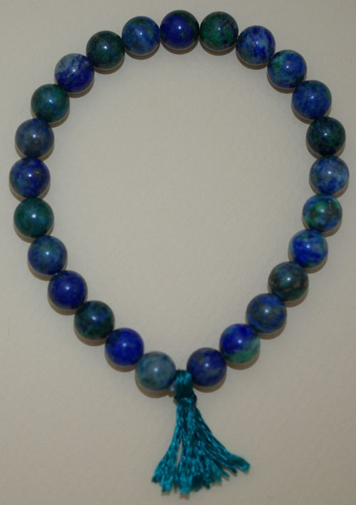 Bracelet Azurite (avec Malachite)