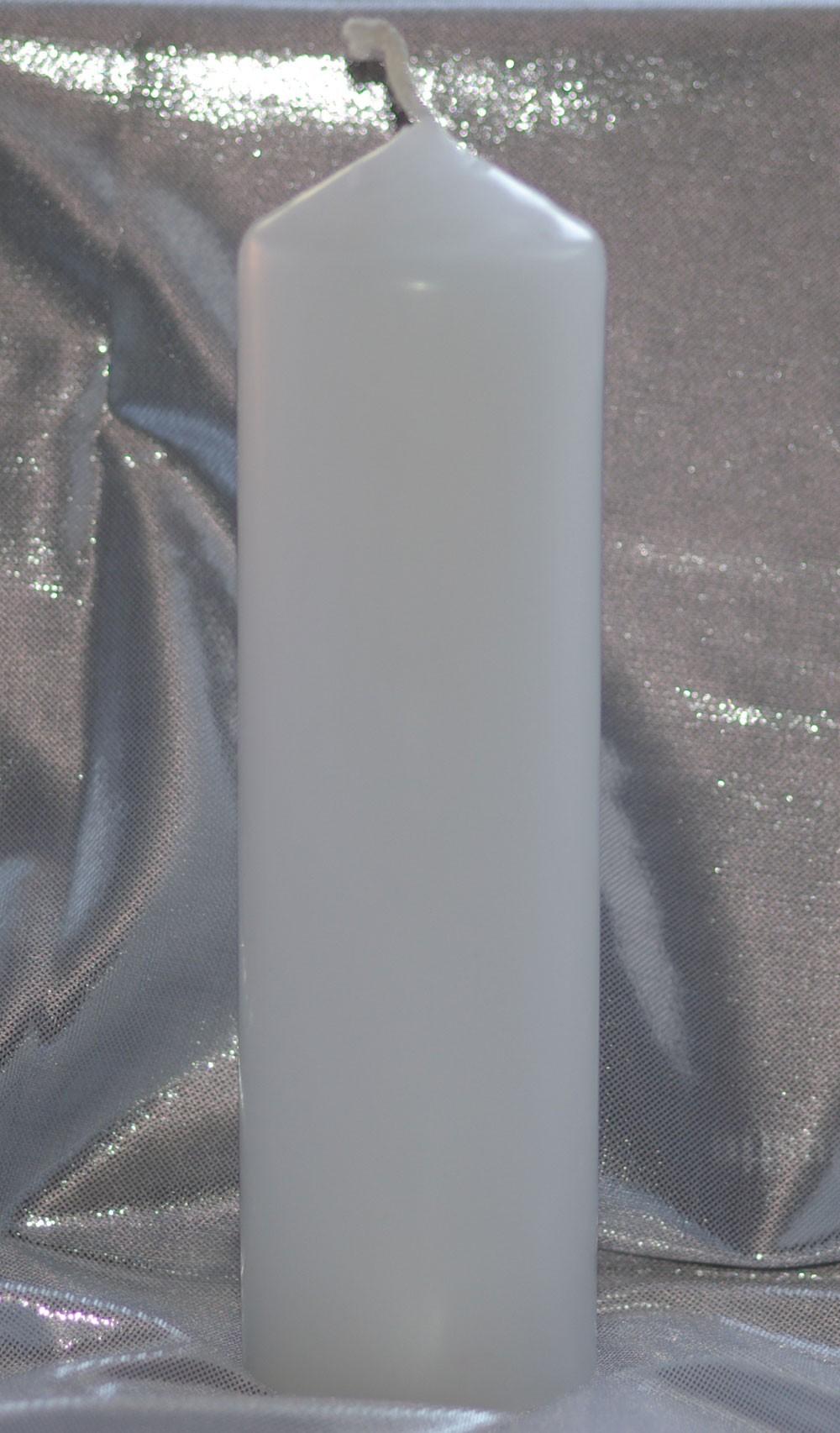 Bougie d'autel - Blanc