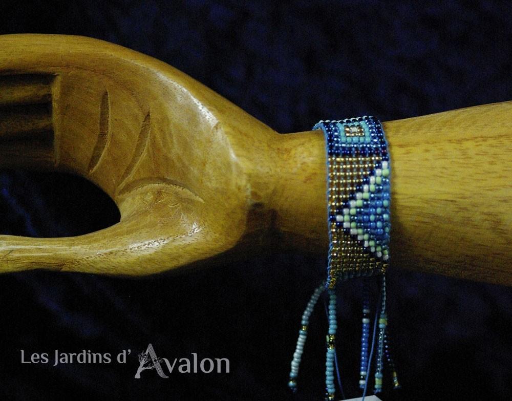 "Bracelet Spirituel : ""La libellule sur le roseau"""
