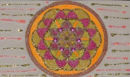 Fleurs de Vie - Format carte