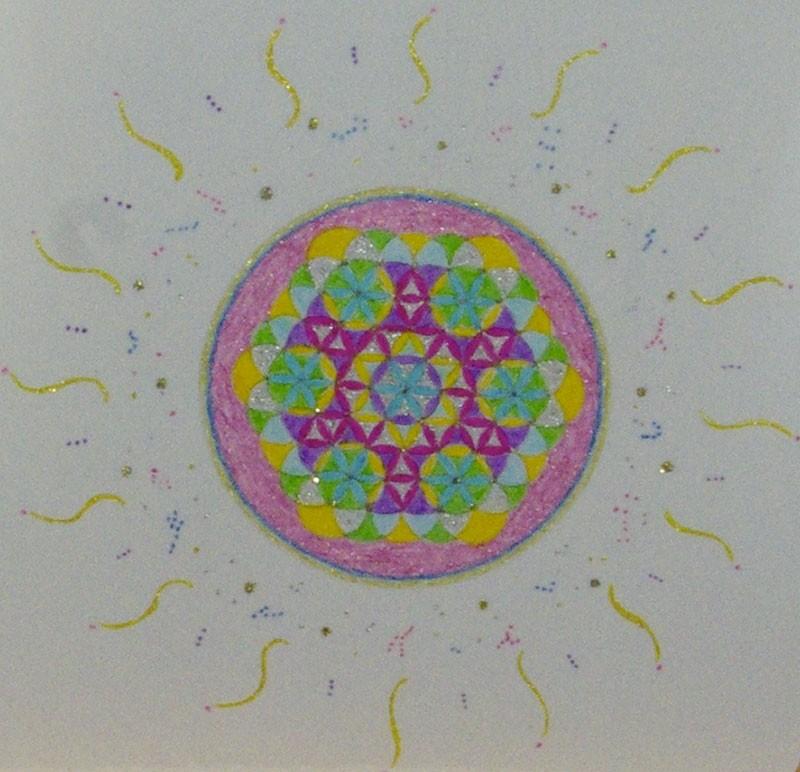 Fleur de Vie - Format Carré
