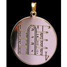 Médaille Pentacle de la Lune