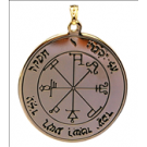 Médaille Pentacle de Saturne