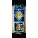 """Bracelet Spirituel : """"Blue Jean's en Voyage"""""""