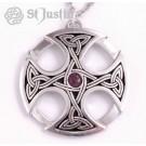 Grande Croix celtique - améthyste