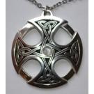 Grande Croix celtique - pierre de lune