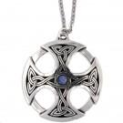 Grande Croix celtique - opalite